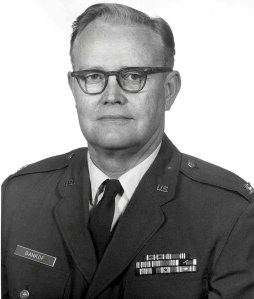 Colonel Karl E. Dankof, USAF, during the Vietnam War.