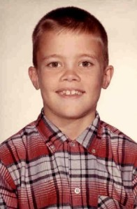 Mark Dankof in November of 1963:  Age 8, Montgomery, Alabama.
