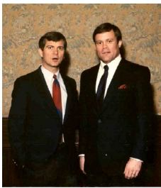 Lee Atwater and Mark Dankof in Seattle 1988:  Decapitating Michael Dukakis is Achieved.  But for What and for Whom?