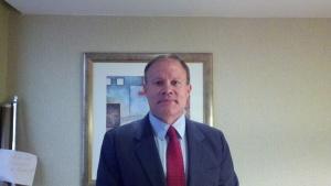 Mark Dankof in Washington, D. C. in November of 2011