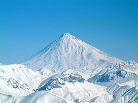 Damavand in Winter, just as I witnessed it on December 14, 2012 on Emirates Airlines.