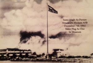 Hickam AFB Under Japanese Attack: December 7th, 1941.