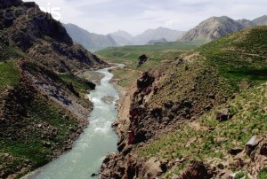 "A River Runs Through Iran's Lar Valley.  It presages the soothing presence of the voice of God in the form of ""the rush of many waters"" (Revelation 1:15)."