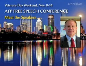 "Mark Dankof's speech at the American Free Press conference in Austin, Texas on Nov 9th, 2013 is entitled, ""FDR and Pearl Harbor:  The Primer for the Zionist Assault on the American Republic and the Nation of Iran."""