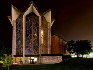 Valparaiso University's Chapel of the Resurrection. Largest University Chapel in the United States.