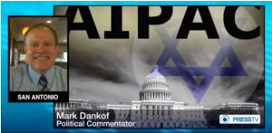 Mark Dankof on Press TV/Iran on the Dangers of the American Israel Public Affairs Committee as the Agent of a Foreign Power.